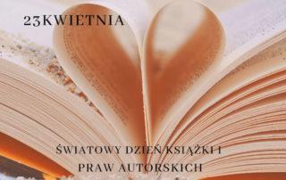 Plakat Dzień Książki i Praw Autorskich