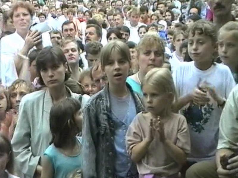 Święto Pieczarki 1996 - publiczność