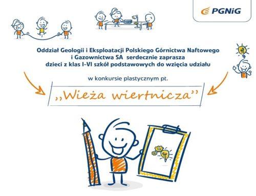 """Konkurs plastyczny """"Wieża wiertnicza"""""""